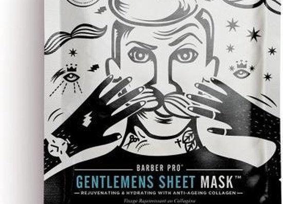 Gentlemen's sheet mask
