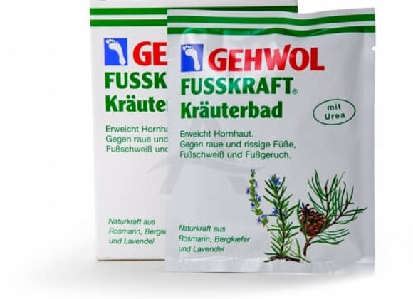 voetbad zout  10 x 20gr.