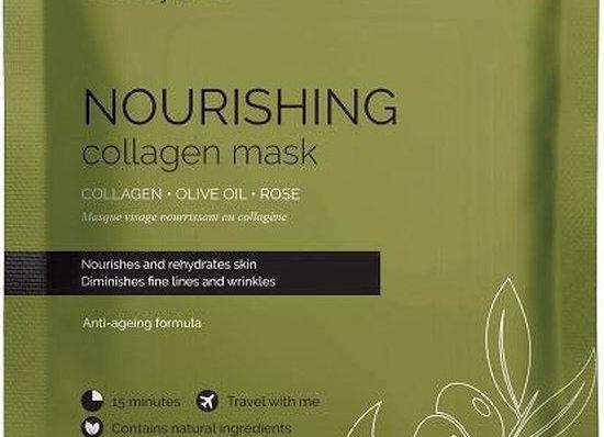 Nourishing collagen mask