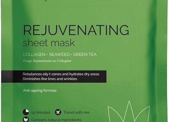 Rejuvenating collagen mask