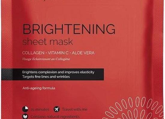 Brightening collagen mask with vit. C