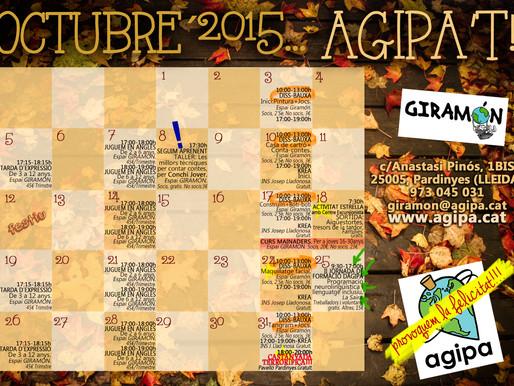 AGIPA'T A L'OCTUBRE!