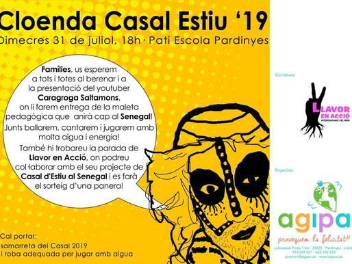 Festa de cloenda dels CASALS d'ESTIU d'AGIPA!