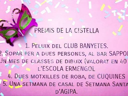 PREMIS DE LA RIFA (CARNAVAL PARDINYES '19)