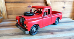 Red Model Truck at Greens Home and Garde