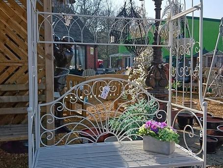 Ornamental Garden Seating