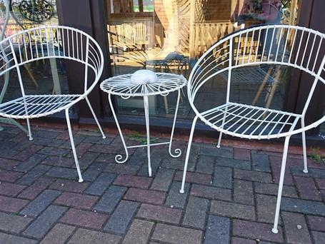 Retro Style Garden Furniture