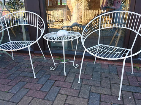 Retro Style Garden Furniture