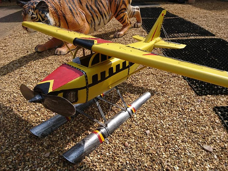 Outdoor Ornamental Aeroplane