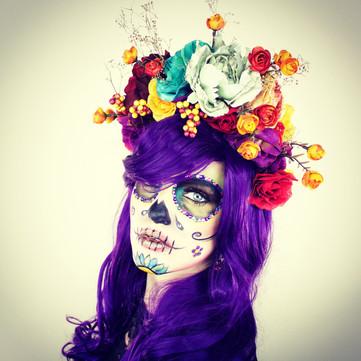 DIY Flower Headpiece