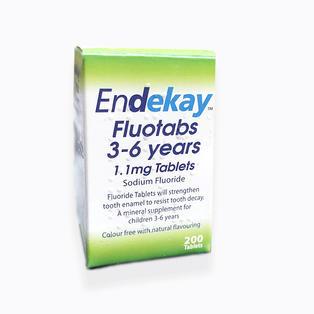 Endekay Fluotabs 3-6 Years