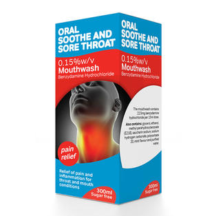 Oral Soothe and Sore Throat