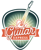 The Guitar Express Logo Final passend tr