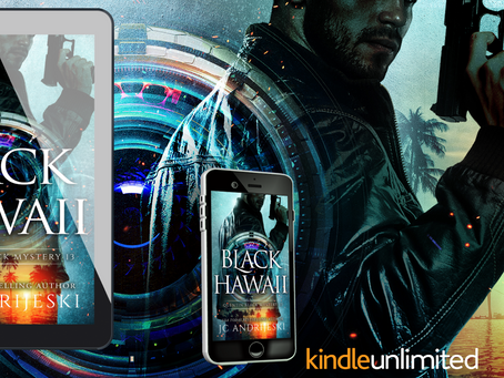 NEW RELEASE! Black Hawaii (Quentin Black Mystery #13)