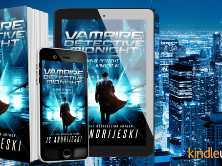 NEW RELEASE! Vampire Detective Midnight