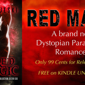 NEW RELEASE! Red Magic: Dystopian PNR (Othala Witches)