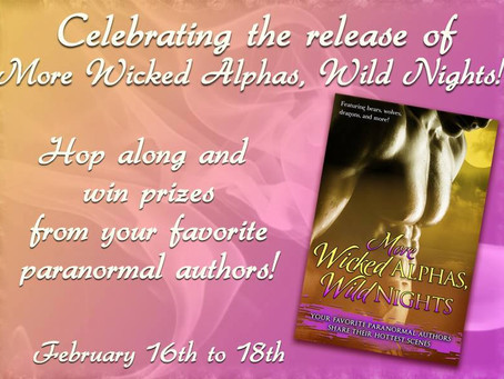 More Wicked Alphas, Wild Nights Facebook hop! #prizes #giveaway #books