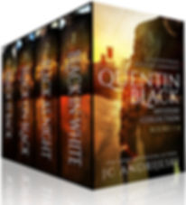 Quentin Black Mystery Collection (Books #1-4)
