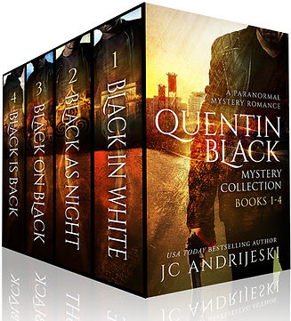 Quentin Black Myster Collection (Books #1-4)