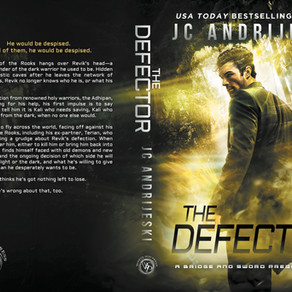 New Paperback! THE DEFECTOR