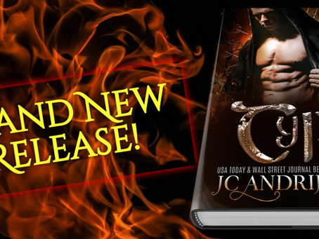 Brand new release! TYR (Gods on Earth #3)