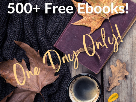 Stuff Your Ereader Event! ONE DAY ONLY!