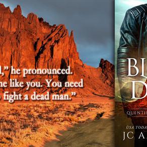 BLACK TO DUST (Quentin Black Mystery #7) is LIVE! :)