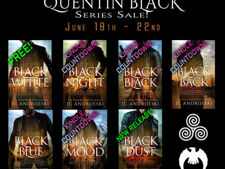Quentin Black Mystery Series Sale!