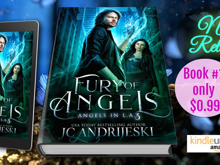 New Release! FURY OF ANGELS (Angels in L.A. #3)