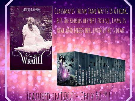 WRAITH by Angel Lawson ~ featured in EDGE #pnr #books #fantasy