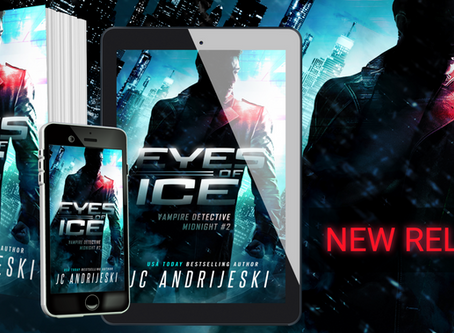 New Release: EYES OF ICE (Vampire Detective Midnight #2)