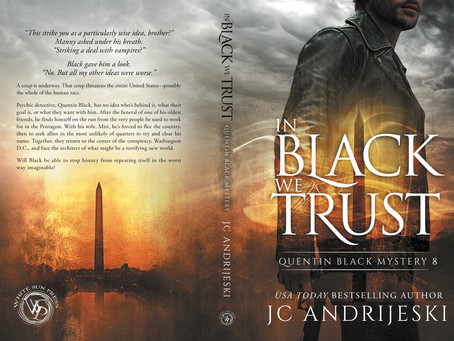 IN BLACK WE TRUST ~ Now in Paperback!
