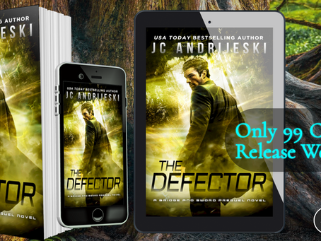 New Release! THE DEFECTOR (Bridge & Sword #0.3)