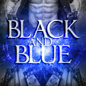 Cover Reveal! BLACK AND BLUE...