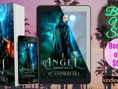 New Release! BAD ANGEL (Angels in L.A. #2)