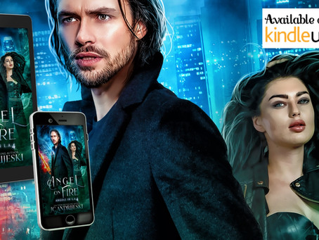 NEW RELEASE! Angel on Fire (Angels in L.A. #4)