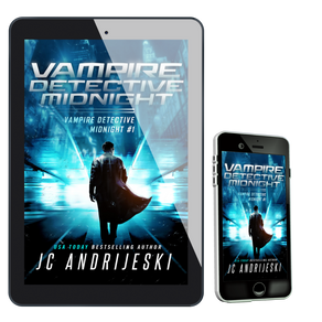 Blog Tour + $30 Giveaway ~ Vampire Detective Midnight