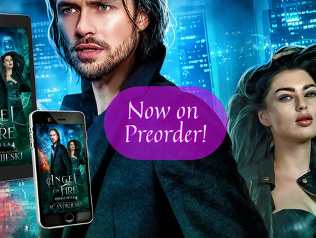 New Urban Fantasy Preorder! ANGEL ON FIRE (Angels in L.A. #4)