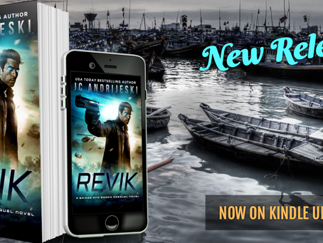NEW RELEASE! REVIK (Bridge & Sword Prequel #0.1)