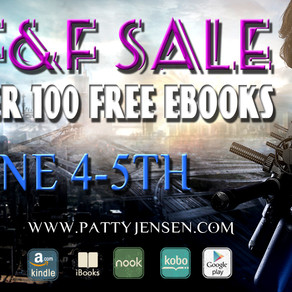 Last Day for SF&F Free Ebook Sale!