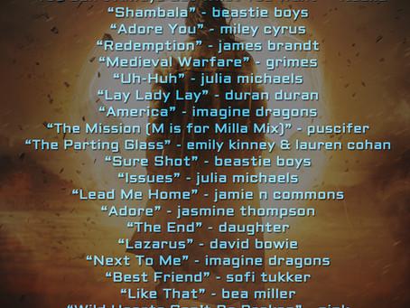 Songlist for SUN (Bridge & Sword #10)