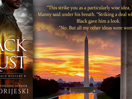 NEW RELEASE ~ IN BLACK WE TRUST (Quentin Black Mystery #8)
