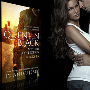 Quentin Black Mystery Collection (books #1-4) is now Live!