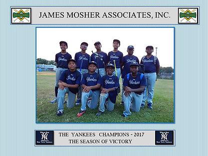 2017 JAMES MOSHER ASSOCIATES, INC  Champ