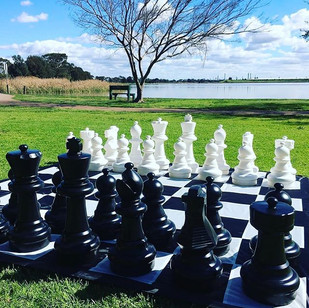 Latest arrival! _Giant Chess for hire pe