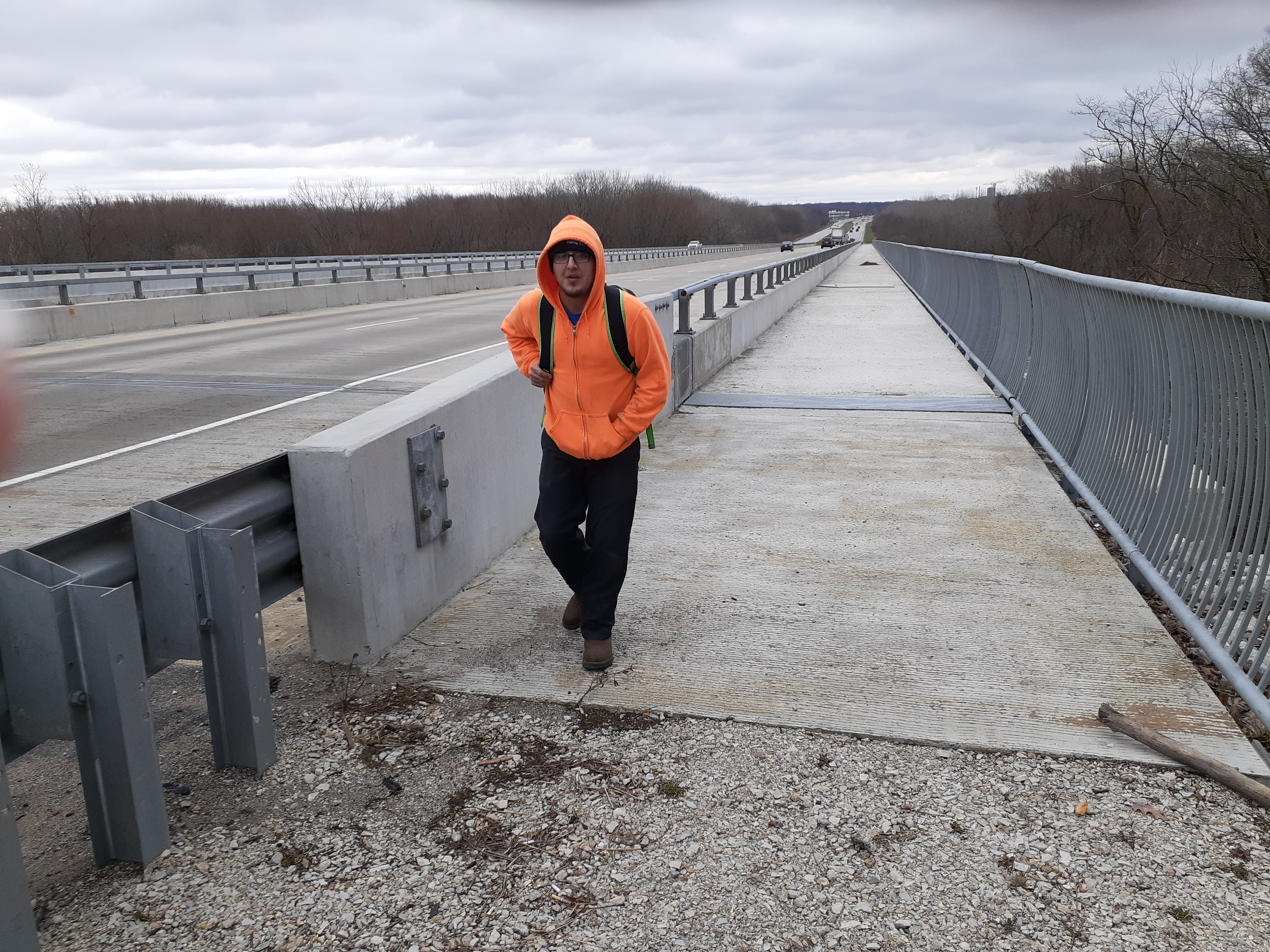 Sagamore Parkway Bridge over the Wabash River