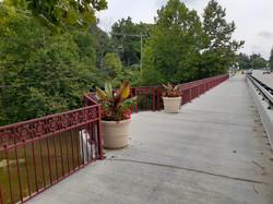 Main Street Bridge in Zionsville crossing Eagle Creek
