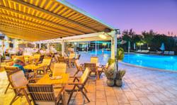 Main Bar evening Isida residence superio