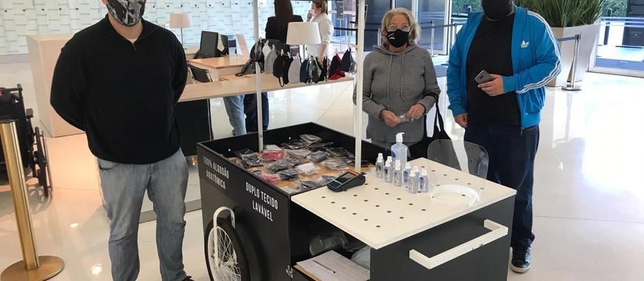 Casa das Máscaras tem novo ponto de vendas no maior shopping de Porto Alegre