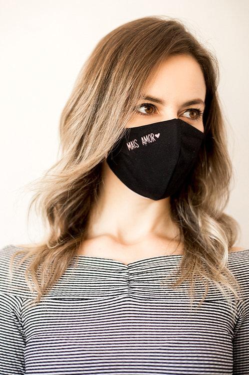 Mais Amor - Máscara de Proteção